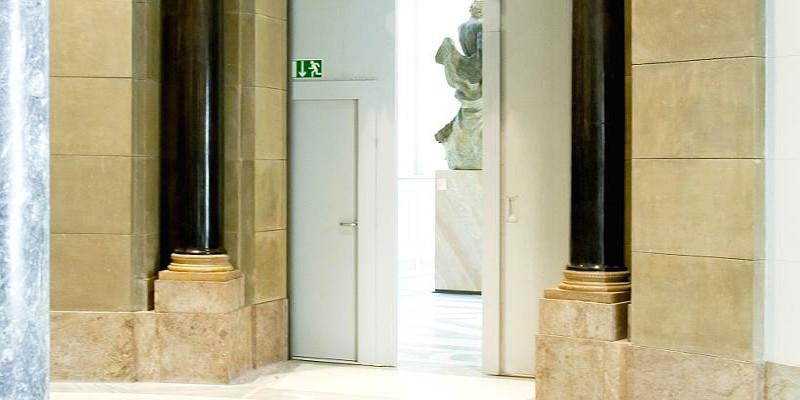 feuerschutzt ren system schr ders bode museum berlin. Black Bedroom Furniture Sets. Home Design Ideas